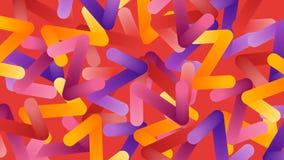 Kolorowy abstrakta z listu tło Obrazy Stock