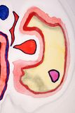 Kolorowy akwarela abstrakt Zdjęcia Stock