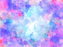 Kolorowy akwarela obrazu tło, Kolorowy szczotkarski tło Obraz Stock