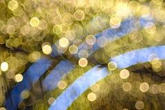 Kolorowy bąbla bokeh tło Fotografia Stock