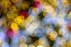 Kolorowy bąbla bokeh tło Fotografia Royalty Free