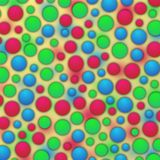 Kolorowy bąbla tło Fotografia Royalty Free