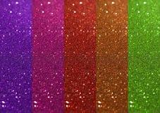 Kolorowy błyskotliwości tło Zdjęcia Royalty Free