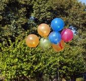 Kolorowy balon Zdjęcia Stock