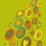 Kolorowy balonu abstrakta tło Zdjęcie Stock