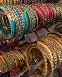 Kolorowy Bangle dla dam obrazy royalty free