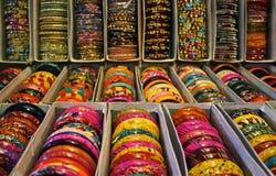 kolorowy bangles hindus Zdjęcia Stock