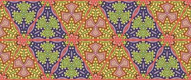 Kolorowy bezszwowy trójboka patchworku wzór Obrazy Royalty Free