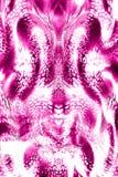 Kolorowy bezszwowy wzór z dzikimi lampartami Fotografia Stock