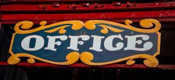 Kolorowy biuro znak Zdjęcia Royalty Free