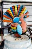 Kolorowy blaszany indyk Zdjęcie Royalty Free