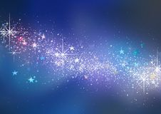 Kolorowy Bożenarodzeniowy Błyskotliwy tło zdjęcia stock