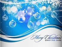 kolorowy Boże Narodzenie projekt Zdjęcie Stock
