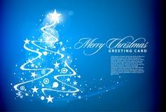 kolorowy Boże Narodzenie projekt Obraz Royalty Free