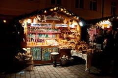 Kolorowy boże narodzenie rynek w Potsdam Zdjęcie Stock