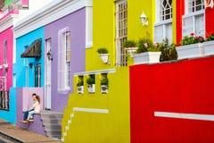 Kolorowy Bo Kaap Zdjęcie Stock