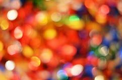 kolorowy bokeh świątecznie Zdjęcia Royalty Free
