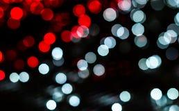 Kolorowy bokeh światła tło Obrazy Stock