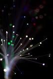 Kolorowy bokeh światło świętuje przy nocą, defocus lekki abstrakcjonistyczny tło Obrazy Royalty Free
