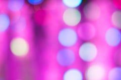 Kolorowy Bokeh światło Zdjęcie Royalty Free