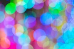 Kolorowy Bokeh światło Zdjęcia Stock