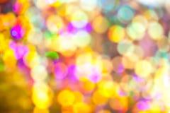 Kolorowy bokeh Obrazy Royalty Free