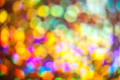 Kolorowy bokeh Zdjęcia Royalty Free
