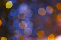 Kolorowy bokeh fotografia royalty free