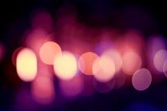 Kolorowy Bokeh i plamy tła rocznika styl Zdjęcie Stock