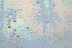 Kolorowy bokeh na abstrakcjonistycznym tle Zdjęcie Stock