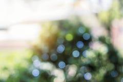 Kolorowy bokeh od światła słonecznego Obraz Stock