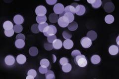 Kolorowy bokeh ultrafioletowy Obraz Royalty Free