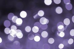 Kolorowy bokeh ultrafioletowy Obrazy Stock