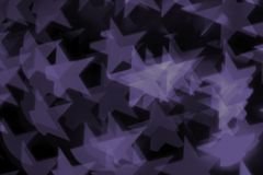 Kolorowy bokeh ultrafioletowy Obrazy Royalty Free