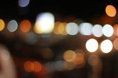 Kolorowy Bokeh w zbliżeniu Fotografia Royalty Free