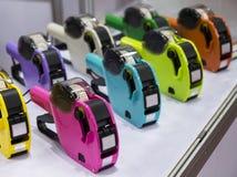 Kolorowy ceny labeller Fotografia Stock