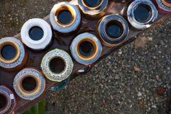 Kolorowy ceramics Zdjęcia Royalty Free