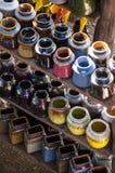 Kolorowy ceramics Obrazy Royalty Free