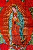 Kolorowy Ceramiczny Guadalupe Dolores hidalgo Meksyk fotografia royalty free
