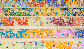 Kolorowy ceramiczny tło Zdjęcie Stock