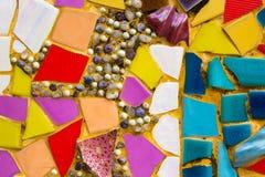 Kolorowy ceramiczny tło Obrazy Stock
