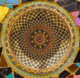 Kolorowy ceramiczny tło Zdjęcie Royalty Free