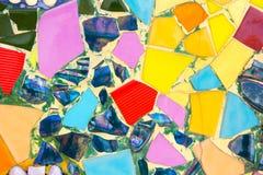 Kolorowy ceramiczny tło Obraz Royalty Free