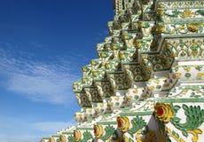 Kolorowy ceramiczny Tajlandzki wzór Zdjęcia Royalty Free