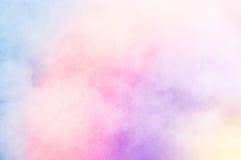Kolorowy chmury tło Obrazy Royalty Free