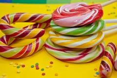 Kolorowy cukierek Zdjęcia Stock
