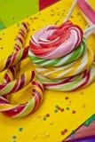 Kolorowy cukierek Obrazy Stock