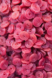 Kolorowy cukierek toczy czerwone purpury Fotografia Stock