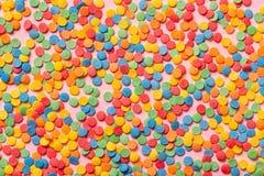 kolorowy cukierki kropi jak tło, świąteczny conc Obraz Royalty Free