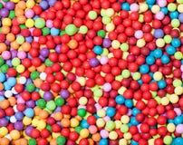 Kolorowy cukierku dragee jako tło obraz royalty free